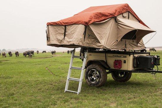 独立悬挂的越野小拖车: 途鹰二号清远越野测试篇
